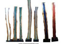 lampara reciclada led / Diseño, producción y fabricación exclusiva y ecológica por www.comprarenbali.com