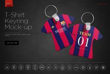 Mockups   Promotional Items / PSD mockups of promotional items including pens, keyrings and more