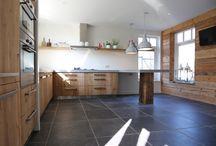 Keukens van oud hout by nice id /