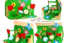school thema bloemen