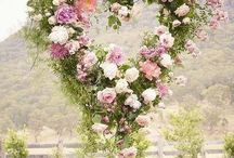 Floral Chandeliers and Suspended Arrangements