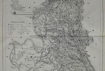 Hărţile districtelor României / 1864-1866