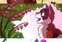 Коты-Воители (арты)
