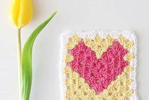 Crochet - Hearts