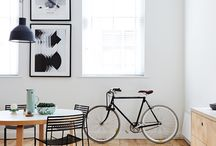 Decoración con bicis