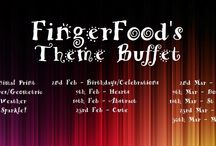 "FingerFood's Theme Buffet / Manis created for FingerFood's Theme Buffet. Details are available on the FingerFood Nails Facebook page and there is now a FB group ""FingerFood's Theme Buffet"". If you'd like to be added to the board, please PM me via FB or email sam@fingerfoodnails.com :)"
