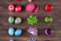 vajíčka barvení