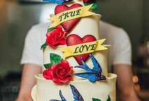 Tattoo Inspired Cakes