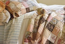 Quilts / Ever since my grandmother made a quilts for me, my brother and some of my cousins. I have had a love for them. To this day, I still have my quilt. Oh sure the edges are very worn out, but that just gives it character, right?!  (smile) / by Renee Hoskins 'Duarte'