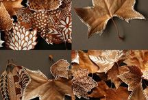 Decoracions fulles secas