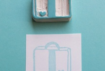 Hand Carved Stamp / by Vanessa Barcellos