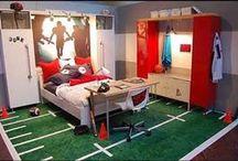 Bedroom - football