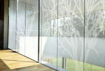 Frosted and decorative glass / Frosted and decorative glass designs to inspire you.