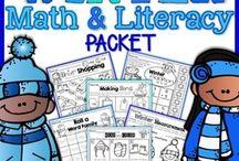Math & Literacy Packs