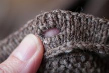 Knitting Hints and technics
