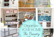 Organization // Cleaning