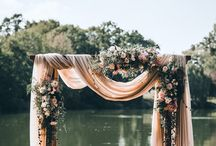 CHUPPAHS / Chuppah inspiration. This board is a mixture of our designs and other floral designers.