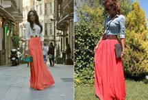 Maxi Dresses & Skirts / by Stylish Eve