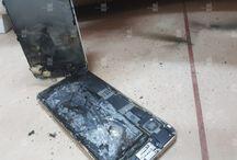 تصاویری از انفجار باطری آیفون ۶s پس از شارژ – مجله خبری ایــــــــــــشومر
