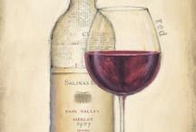 bandeja mari vino