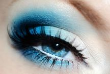 Blue mac eyeshadow