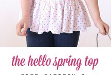 hello sewing machine it's spring