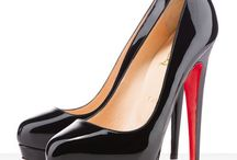 Fashion & Louboutins / Fashion paired with Sequin & Louboutins red bottoms Shoes