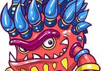 Monster Monster Kecil / ni bukan tokoh kartun dari serial terbaru, tapi ini adalah Monster Monster Kecil jahat yang nyata, berbagai bahan kimia berbahaya yang digunakan dalam pembuatan pakaian kita. Mereka tidak mudah terlihat, jago bersembunyi, namun ada dan melekat dalam keseharian kita tanpa kita sadari. Mereka merusak lingkungan, mencemari sungai dan mata air kita, dan berkeliaran dalam pakaian anak-anak kita.