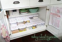 køkken organisering