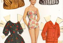 Vintage Paper Dolls / by Harriet Overcash