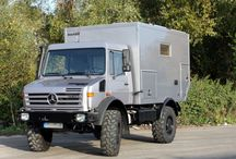 Unimogs and other camper trucks