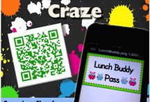 QR Codes / Resources for Teachers on using QR codes in the classroom / by Andrea Beecham