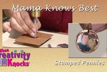 penny stamping