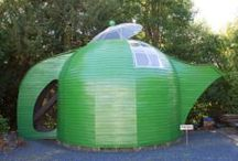 SHEDS / Eco,unusual and practical sheds / by Ann Lister
