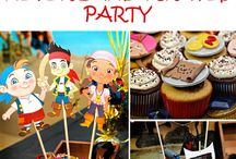 Jake and the Neverland Pirates Party Ideas / Find fun ideas and inspiration for your child's Jake and the Neverland Pirates party!