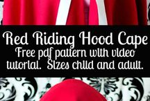 Red Riding Hood Costume Diy