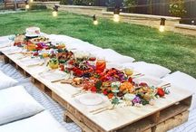 decoration table party setting