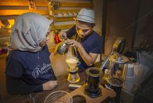 Barista Coffee Shop Couple 2