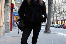 Parisian winter style