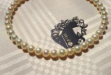 Champagne Gold Japanese Akoya Sea Pearl / http://www.iseya-japan.com
