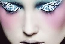 futuristic make-up