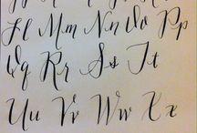 Calligraphy inspiration