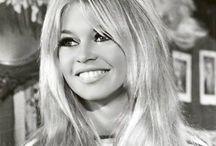 Brigitte Bardot / Brigitte Bardot. Her style, hair, make up.