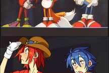 Sonic Characters humans ♡