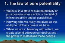 The law of pure potentiality