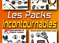 pack détecteurs de métaux
