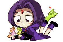 teen titans / I shipp raven x bb, Robin x starfire, jinx x flash