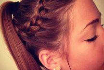 peinados faciles ♥