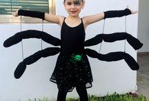 disfraz de arañita