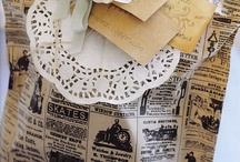 Christmas Wrappings / by Andrea Haywood at Opulent Cottage
